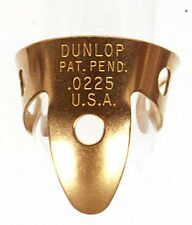 2-Pack of Dunlop Brass Fingerpicks - .0225""