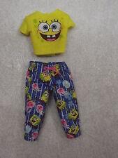 BARBIE DOLL CLOTHES SPONGE BOB CAPRI PANTS & TOP