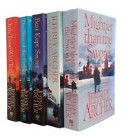 Jeffrey Archer 5 Books Clifton Chronicles Series 1-5 Crime Thriller New Thriller