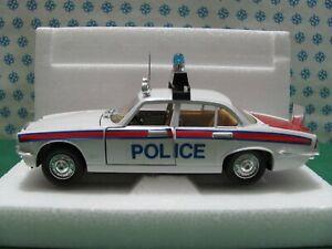 Vintage  -  JAGUAR  XJ Police    - 1/25  Polistil S635 Made in Italy 1978