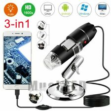 For Electronic Accessories Coin Inspection 1600X USB Digital Microscope US Stock