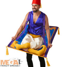 Flying Carpet Adults Fancy Dress Aladdin Genie Mens Ladies Novelty Costume Acc