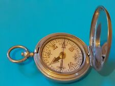 More details for world war one military army issue compass 1918 in dennison case