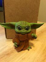 Baby Yoda Mandalorian, Star Wars figure handmade