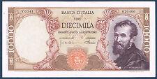 ITALIE - 10000 LIRE Pick n° 97 c  du 4-1-1968. en SUP   V 0341 020400