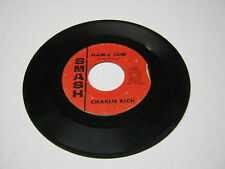 Charlie Rich Dance Of Love/I Can't Go On 45 RPM