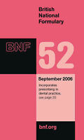 British National Formulary by Pharmaceutical Press (Paperback, 2006)