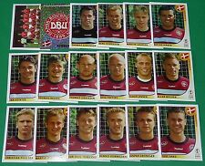 PANINI FOOTBALL JAPAN KOREA 2002 COUPE MONDE FIFA DANEMARK DANMARK