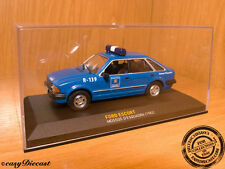 FORD ESCORT MOSSOS D'ESQUADRA SPAIN POLICE 1:43 1982