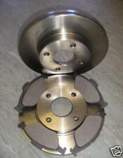 FORD FUSION FRONT BRAKE DISCS AND PADS - FITS ALL MODELS 2002 - 2012