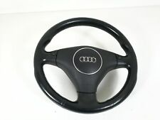 Audi A6 4B 4BH Allroad Leather Steering Wheel 3-Speichen With Rocker Switches