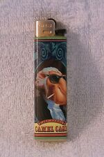VINTAGE - 1993 - JOE CAMEL CASH Cricket Lighter - Camel Cigs -- Still WORKS