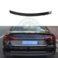 Audi A6 PRIMED /& QUALITY S6 C7 Rear Trunk Boot Lip Spoiler