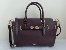 Coach NWT F55665 Blake Carryall Bubble Leather Oxblood