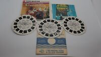 Vintage View-Master 3 Reels 21 Pics The Night Before Christmas B 382 w/Booklet
