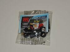 Racer Series Type Buildable Mini-Figure Set Kart & Racecar Driver