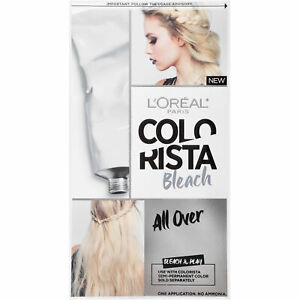 LOreal Paris Colorista Bleach Use with Colorista Semi Permanent Color