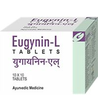 Gufic Eugynin-L 10 Tablets Ayurveda Ayurvedic Herbal Product