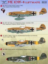 Imprimé échelle 1/72 Messerschmitt Bf 109F-4 # 72049