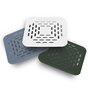 3x Abflussschutz Abfluss-Sieb Ausguss-Abdeckung mit Saugnapf Haarfänger Dusche