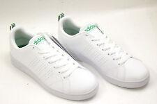 SCARPE ADIDAS ADVANTAGE CLEAN VS neo superstar sneaker shoes pelle TOTAL WHITE