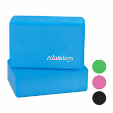 Yogablock 2er Set Yoga-Klötze Yoga-Würfel Sport Schaumstoff  verschiedene Farben