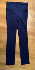 NEW Athleta S Straight Up Pant Navy Blue