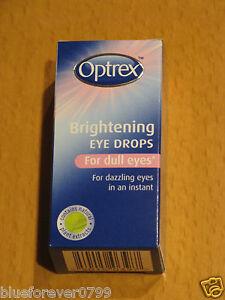 Optrex Aufhellung Augentropfen Für Stumpf Augen 10ml Neu / Verpackt Ablauf 2022