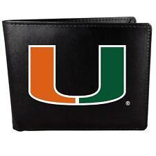 Miami Hurricanes Bi-fold Wallet Large Logo