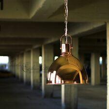 loft Suspension luminaire chaîne Cuivre Optique Ø 31CM lampe industrielle rétro