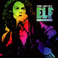 RONNIE JAMES DIO & ELF STUDIO AND LIVE RARITIES CD ALBUM MDNA-13068 RUMBLE
