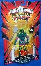 "Power Rangers Jungle Fury 5"" Evil Melle w Flit the Fly New Factory Sealed 2008"