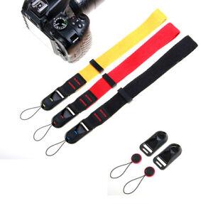 Quick Release DSLR Camera Cuff Wrist Belt Leash Shoulder Buckle W/ Strap BEST