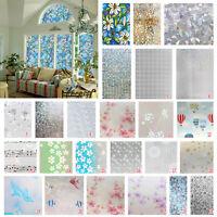 45x100cm Fensterfolie Sichtschutz Klebefolie Fenster Bad Milchglas Glasfolie