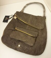 Gustto Falcha SHOULDER BAG - CROSSBODY ON BEIGE TONE NEW WITH DUST BAG