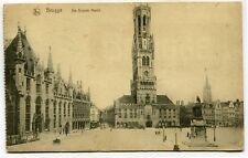 CPA - Carte Postale - Belgique - Brugge - De Groote markt - 1918 ( SV5434 )