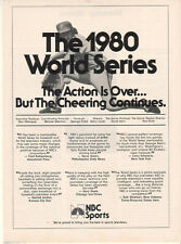 Phillies Mike Schmidt 1980 World Series 1980 Ad- NBC Sports /cheering continues