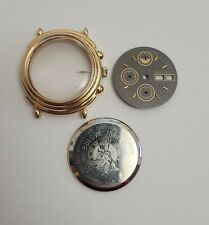 Lemania 5100 BULOVA Chronograph case with dial, crown and stem