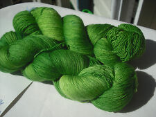 Hand Dyed, 100% Superfine Merino Lace Knitting Yarn, 100g x 887m