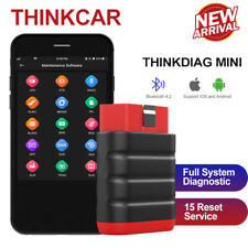 Automotive OBD2 Full System Scanner Bluetooth Car Diagnostic Tool Fr IOS&Android