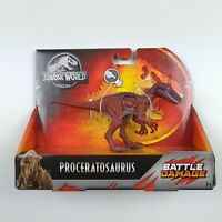 Proceratosaurus Battle Damage Dinosaur   Jurassic World Dino Figure Toys   2018