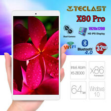 8,0 Zoll Teclast X80 Pro 2GB+32GB QUAD-CORE Win10+Android 5.1 4K HDMI Tablet PC