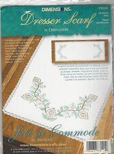 Jacobean Vine Dresser Scarf Embroidery Kit by Dimensions