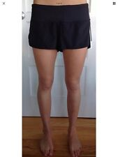 Lululemon Size 4 Speed Short Block It black BLK NWT turbo run shorts