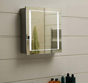 LED-Beleuchtung Spiegelschrank GS032 (80 x 63 cm)