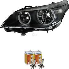 Scheinwerfer links für BMW 5er E60 Bj. 03-03.07 H7+H7 inkl. PHILIPS Lampen CBF