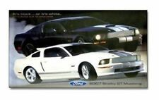2007 Shelby GT Mustang Cobra Poster (Black & White Mustangs) FREE USA SHIPPING