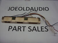 Sansui 1000X Original Phono,AUX,Stereo Lamps & Holder. Parting Out 1000X.