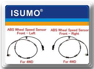 Front Left//Right GoSens 086ab ABS Wheel Speed Sensor for DODGE RAM 2500 PICKUP//RAM 3500 PICKUP 2003-2005 OE# 5103493AA