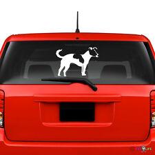 Jack Russel Terrier Windshield Sticker Vinyl Auto Window profile jrt parson v2